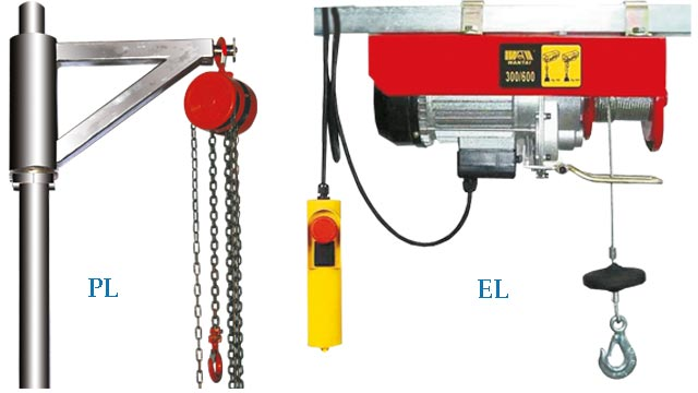 Chain pulley, hydraulic head lifting system